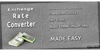 Rate exchange converter