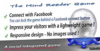Reader mind social game