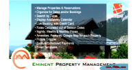 Real eminent booking property estate