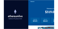 Realtime ethereumlive info prices ethereum