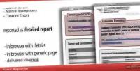 Reporter error