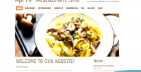 Restaurant php menu site reservation and