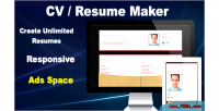 Resume cv maker