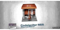 Rss codeigniter generator