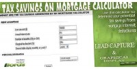 Savings tax calculator mortgage on