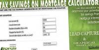 Savings tax calculator mortgage on