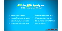 Seo turbo analyzer