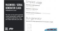 Serial password generator