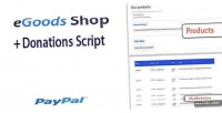 Shop egoods donations script