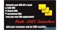 Sms bulk interface
