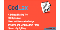 Snippets codlax sharing tool