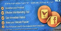 Socially transact sell way easy the