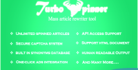 Spinner turbo article rewriter