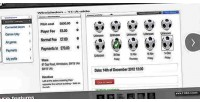 Sports management web app app iphone & sports