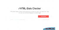Stats html checker