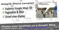 Store simple locator