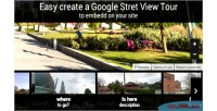 Stret google view tour