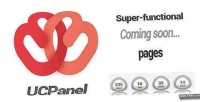 Ucpanel super functional coming cms pages soon