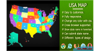 Svg interactive usa fully state responsive map submitable name