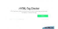 Tag html checker