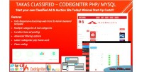 Takas classified codeigniter php script ad classified