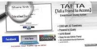 Tell tafta a access to friend