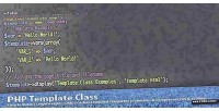 Template php class