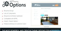 Theme wordpress options responsive & modular