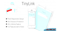 Tinylink small & powerful script shortener url