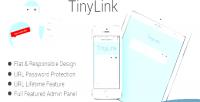 Tinylink small & powerful script shortener url
