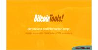 Tools bitcoin bitcoin script information tools