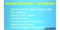 Tracking security file bawatcher website hosting