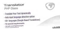 Translate php