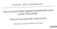 Twitter powerful script posting authenticator