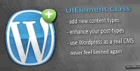 Uielement wordpress class