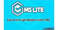 Ultimate cmslite custom cms