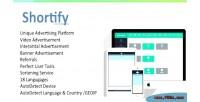 Unique shortify advertising platform