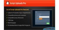 Uploads images script api via