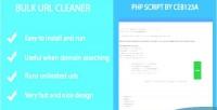 Url bulk cleaner script