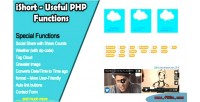 Useful ishort php functions