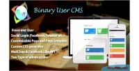 User binary cms
