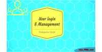 User php login hmvc & codeigniter management