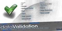 Validation data class