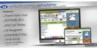 Value website calculator