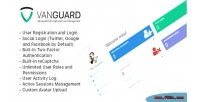 Vanguard advanced php login management user and