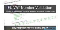 Vat eu number validation