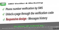 Verification sms marketing app