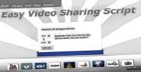 Video easy sharing script
