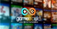Video gametrade game marketplace