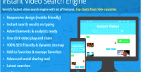 Video instant search engine